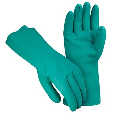 Nitrile Gloves, 13 Inch, Flock Lining