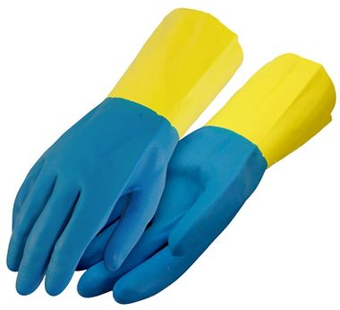 Neoprene Over Latex Gloves, Flock Lining