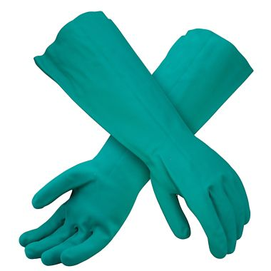 Nitrile 22 Mil Gloves, 18 Inch, Unlined
