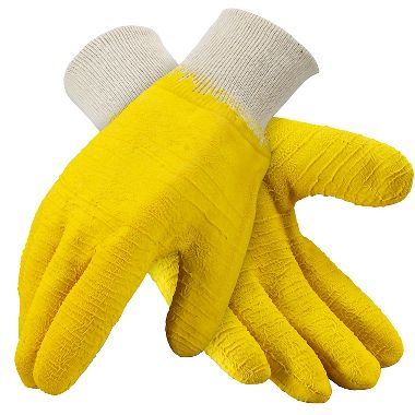 Glacier Grip Insulated Rubber Coated Gloves, Knit Wrist