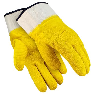 Glacier Grip Insulated Rubber Coated Gloves, Safety Cuff, 1 Pair
