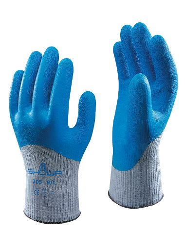 Atlas Fit Rubber Dipped Gloves with 3/4 Back
