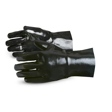 Neoprene Coated Gloves with Smooth Finish, 12 Inch