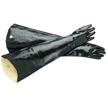 Neoprene Coated Gloves, Shoulder Length