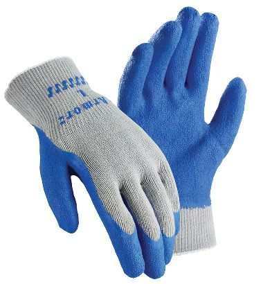 Armor Knit Gloves with Latex Coated Palm, Men's, 1 Pair