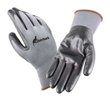 Otterback® Foamed Nitrile Coated Knit Gloves, 1 Pair