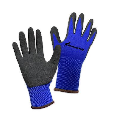 Otterback® Flex Ultralightweight Sandy Nitrile Palm Coated Nylon/Spandex Gloves