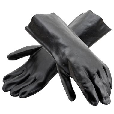 PVC Coated Gloves, 14 Inch