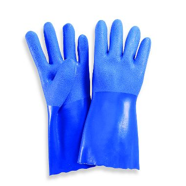 Triple Coated PVC Gloves