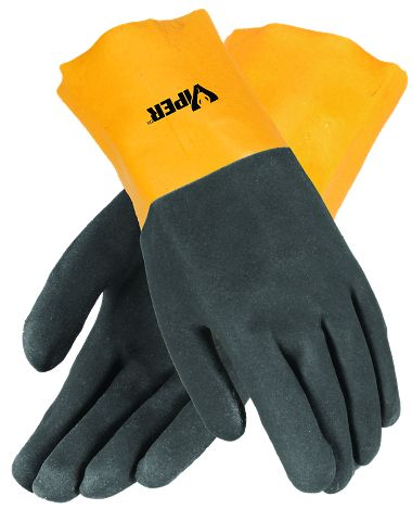 Viper® Double Coated PVC Gloves, 12 Inch
