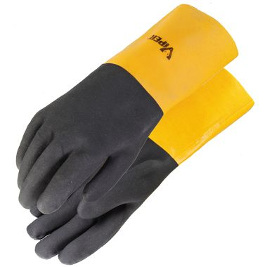 Viper® Double Coated PVC Gloves, 14 Inch