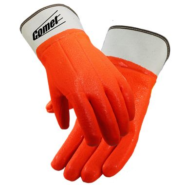 Comet® Insulated PVC Coated Gloves, Safety Cuff, 1 Pair