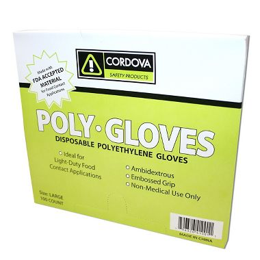 Sani-Gloves Polyethylene Gloves