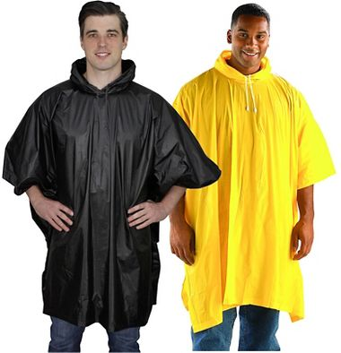 Repel Rainwear™ 0.10mm PVC Rain Poncho