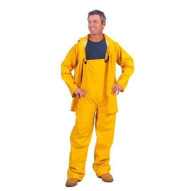 Repel Rainwear™ 3 Piece 0.20mm PVC Rain Suit, Yellow