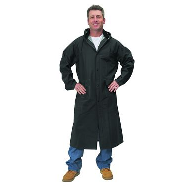 Repel Rainwear™ 0.35mm PVC/Polyester Raincoat, 48 Inch
