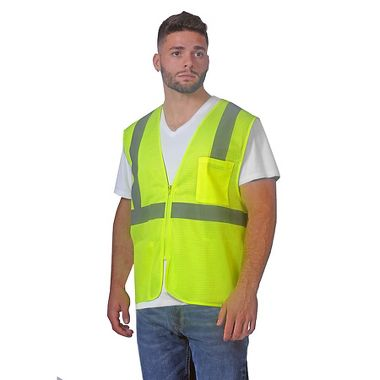 Illuminator™ Economy Mesh Class 2 Vest with Zipper Closure