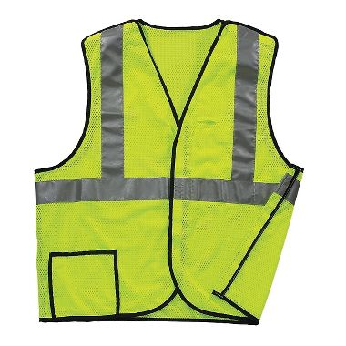 Illuminator™ Class 2, 5-Point Breakaway Breathable Mesh Safety Vest