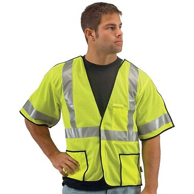 Illuminator™ Class 3, Breakaway Mesh Safety Vest