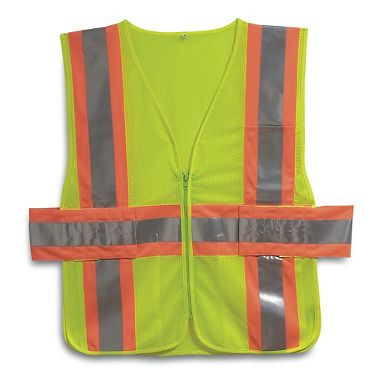 Illuminator™ Class 2, Two Tone Mesh Expandable Safety Vest