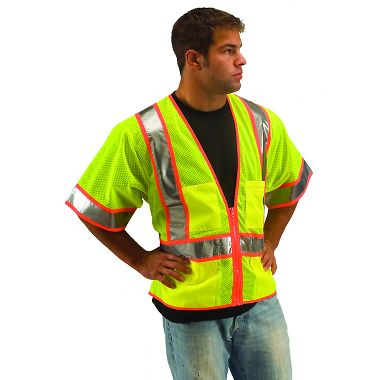 Illuminator™ Class 3, Two Tone Mesh Surveyors Vest