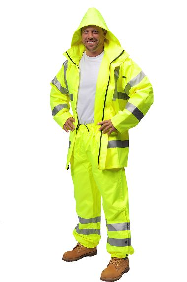 Illuminator™ Breathable Class 3 Raincoat