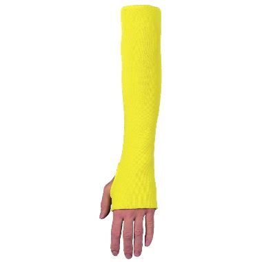 "Cut Resistant Knit Sleeve With Thumbhole, 18"", Made With DuPont™ Kevlar® Fibers"