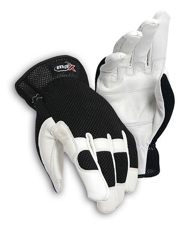 maX™ Extra White Goat Grain, Double Palm Gloves