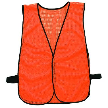 Illuminator™ Fluorescent Orange Economy Safety Vest