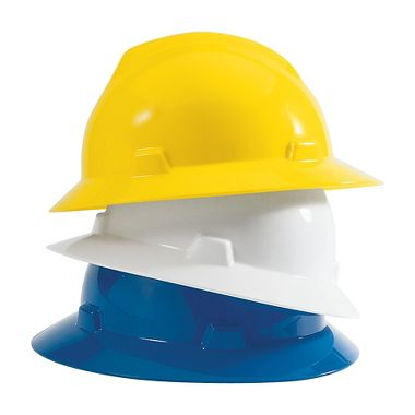 V-Gard Full Brim Hard Hat