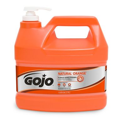 GOJO Natural Orange Pumice Hand Cleaner, 1 Gallon