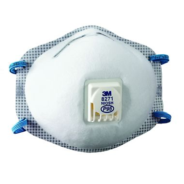 3M P95 Respirator with Cool Flow Exhalation Valve
