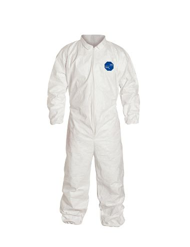 DuPont™ Tyvek® 400 Coverall, TY125S, Elastic Waist, Wrists & Ankles, Serged Seams
