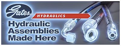 Gates® Hydraulic Signage