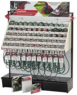 PoweRated® Belt Display Rack