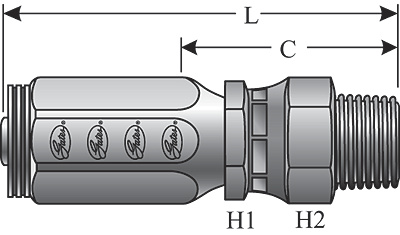 Field Attachable Type T for G2 Hose