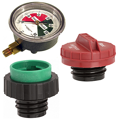 Fuel Cap/Cooling System Testers, Replacement Parts