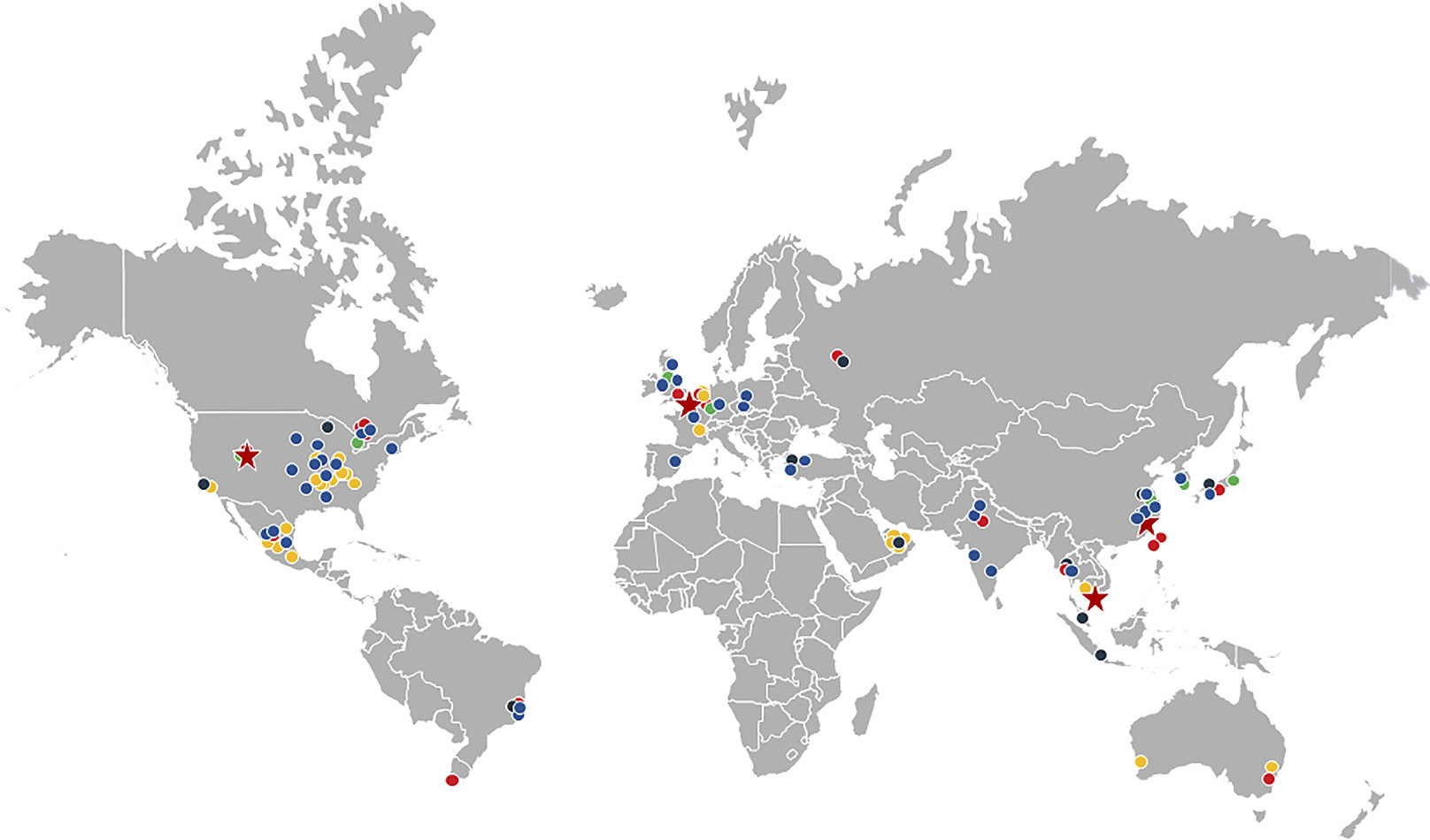 gates map