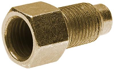 Metric Hydraulic Brake Adapter - Male Inverted to Tube O.D. Female