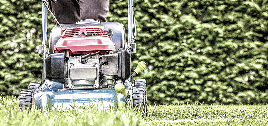 Walk behind lawn mower