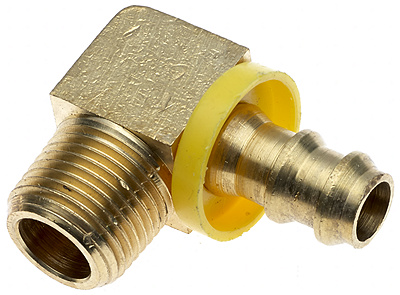 Brass Lock-On Field Attachable Couplings for LOC and LOL Hose