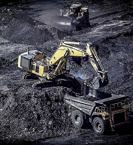 Coal loader hauler