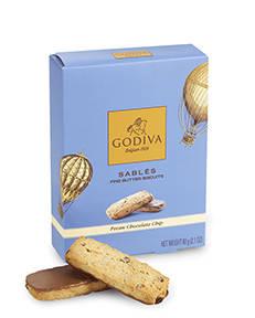 chocolate pecan biscuit