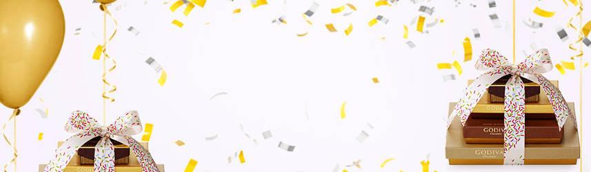 congratulations chocolate gifts godiva