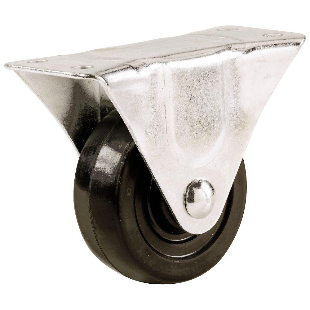 Roulette fixe à usage général.  100mm