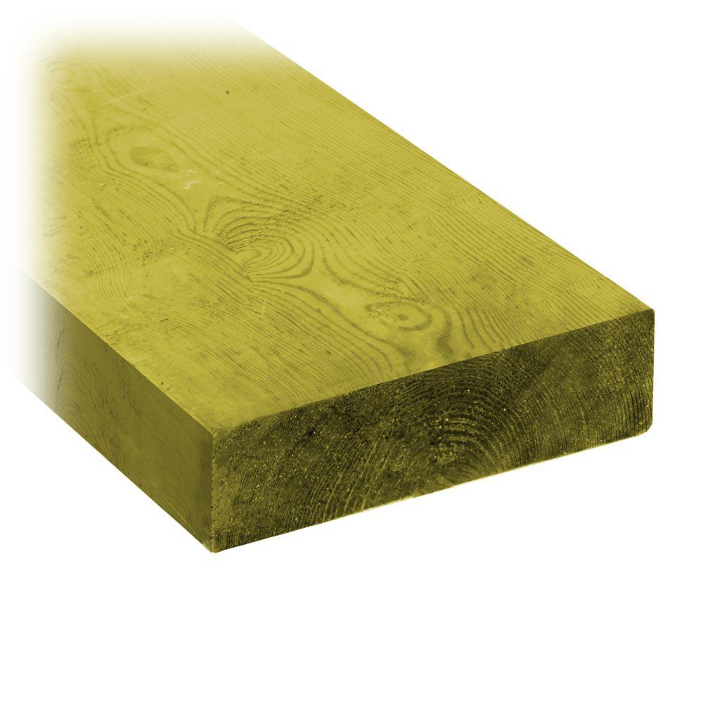 2x6x16 Treated Wood