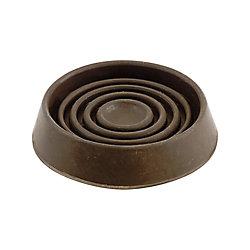 Everbilt Coupelles de meubles en caoutchouc lisse de 44 mm (4 par paquet)