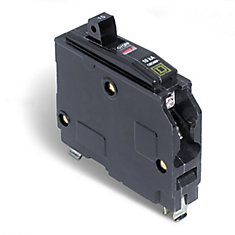 Single Pole 15 Amp QO  Plug-On Circuit Breaker