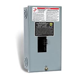 Schneider Electric - Square D Centre de distribution de panneau auxiliaire QO  de 70A avec un maximum de 2 espaces et 4 circuits