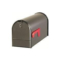 Black Rural Mailbox
